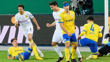 Hummels znowu z golem, Borussia z awansem