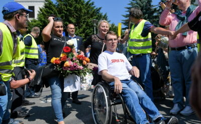 Protestujący: protest nie kończy się, żeby zrobić przyjemność politykom