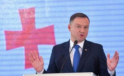Andrzej Duda z wizytą w Gruzji