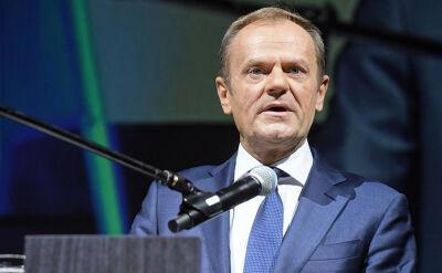 Tusk: kto występuje przeciwko naszej pozycji w Europie, występuje przeciwko niepodległości