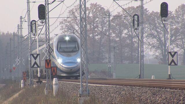 Sypiące się nasypy na trasie Gdańsk-Warszawa