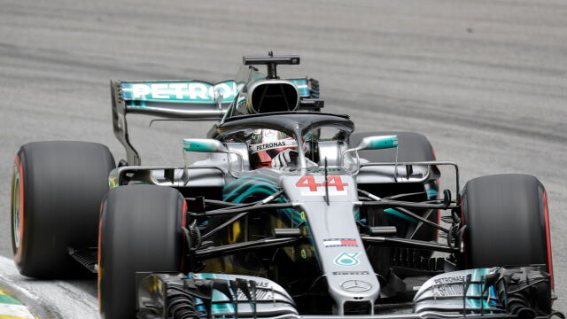 Hamilton rushes. And the title is already in the pocket