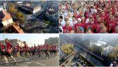 Polacy poprzez odśpiewanie hymnu uczcili stulecie odzyskania niepodległości