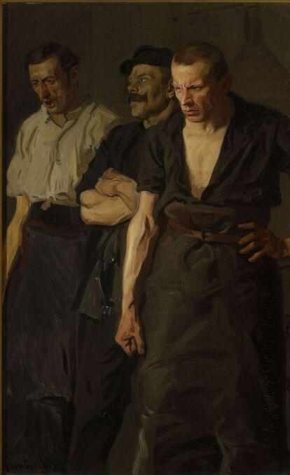 Stanislaw Lenz - Strajk 1910