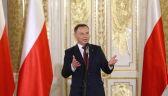 Prezydent na uroczystości wręczenia Orderów Orła Białego: aż dziw brał, że ktoś tak wielki Orderu dotąd nie dostał