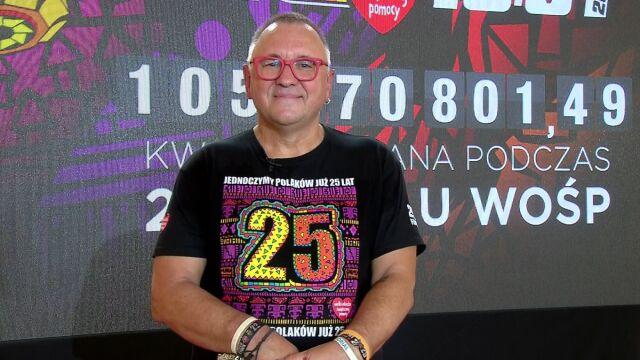 """Gościem """"Faktów po Faktach"""" był Jurek Owsiak"""