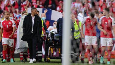 Dramatyczne chwile podczas Euro. Eriksen był reanimowany, musiano przerwać mecz