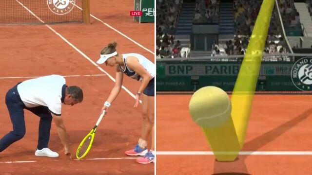 """Eurosport wychwycił wielki błąd arbitra w półfinale French Open. """"Musiałam wygrać dwa razy"""""""