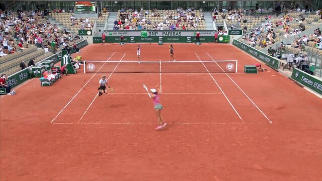 Roland Garros 2021. Iga Świątek i Bethanie Mattek-Sands w ćwierćfinale. Niezwykła radość tenisistek - Tenis | Eurosport w TVN24