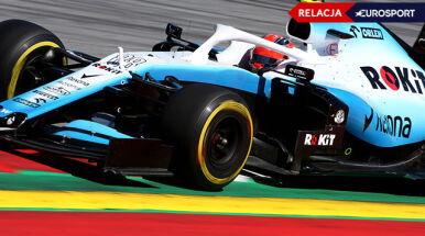 Udany wyścig Kubicy na Silverstone. Williams wreszcie odbił się od dna