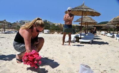 Specjalny wysłannik TVN24: plaża w Susie jest niemal pusta