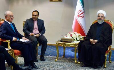 Amano w Teheranie spotkał się z Rowhanim