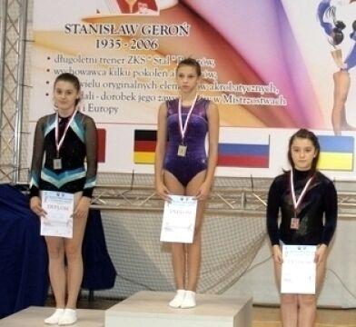 Zakwalifikowała się na mistrzostwa w grupie wiekowej 15-16 lat
