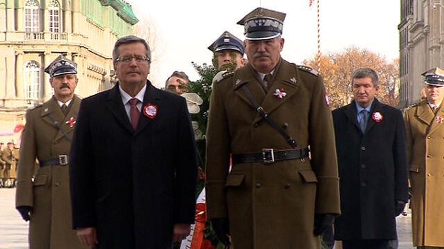 Prezydent i parlamentarzyści złożyli wieńce na Grobie Nieznanego Żołnierza