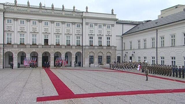 Przyjazd Obamy do Pałacu