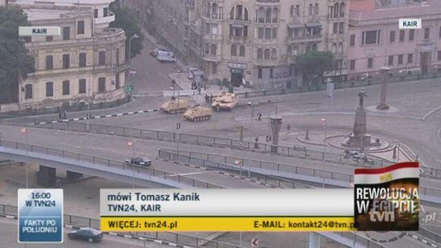 Tomasz Kanik o sytuacji w Egipcie (TVN24)