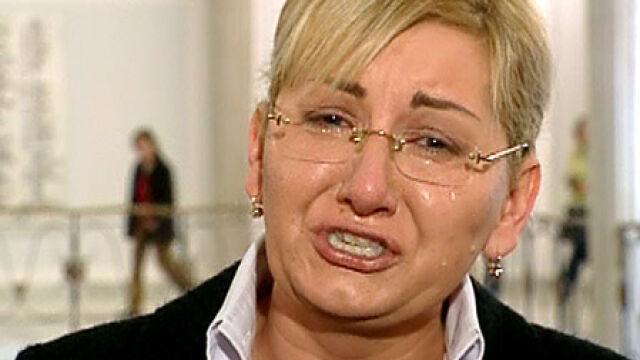 Beata Sawicka płakała przed kamerami