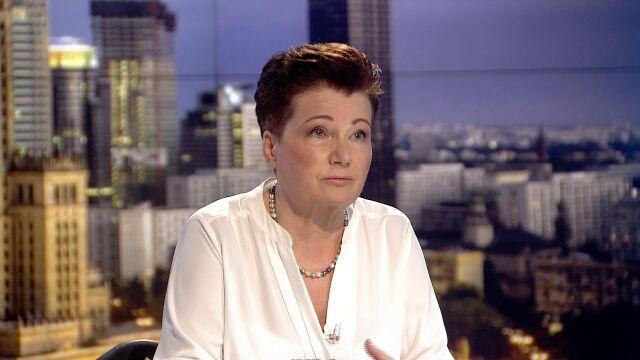 """Hanna Gronkiewicz-Waltz w """"Faktach po Faktach"""""""