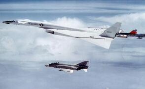 Katastrofa XB-70A na serii zdjęć