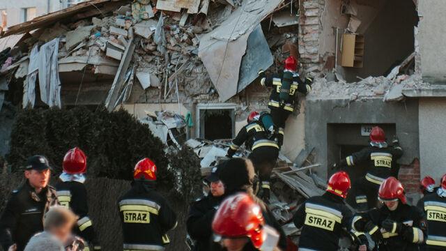 Zakończone poszukiwania po wybuchu kamienicy w Poznaniu