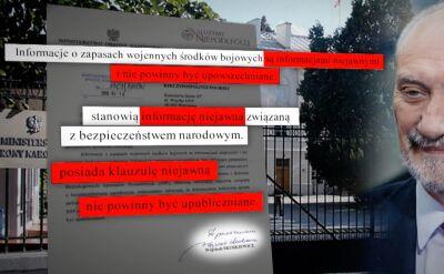 MON odpowiada na interpelację Krzysztofa Brejzy