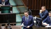 Sejm: dyskusja Patryka Jakiego i Stanisława Tyszki