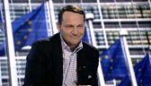 Sikorski: Szydło wyprowadzała unijną flagę z kancelarii premiera, a teraz na unijny rząd się szykuje
