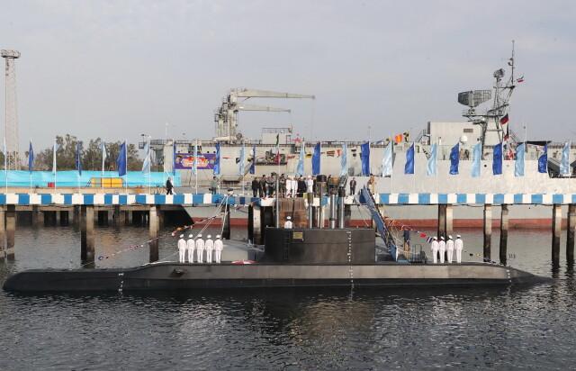 Nowy okręt podwodny Iranu.