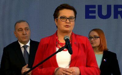 Katarzyna Lubnauer: pokazujemy, że inna, odpowiedzialna polityka jest możliwa
