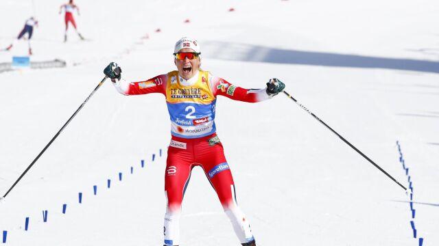 Johaug bezkonkurencyjna w skiathlonie. Marcisz zadebiutowała lepiej niż Kowalczyk