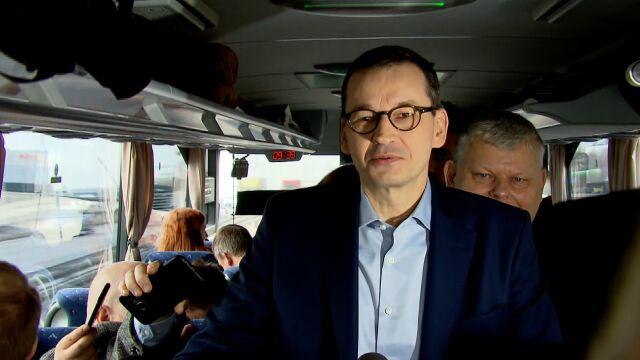 Premier ruszył w trasę po Polsce