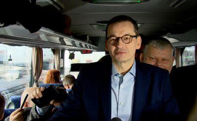 Objazd premiera po Polsce