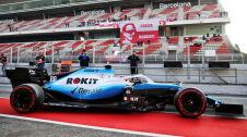 Robert Kubica testuje w Barcelonie