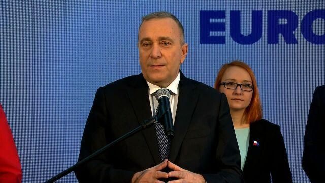 Grzegorz Schetyna o powstaniu Koalicji Europejskiej