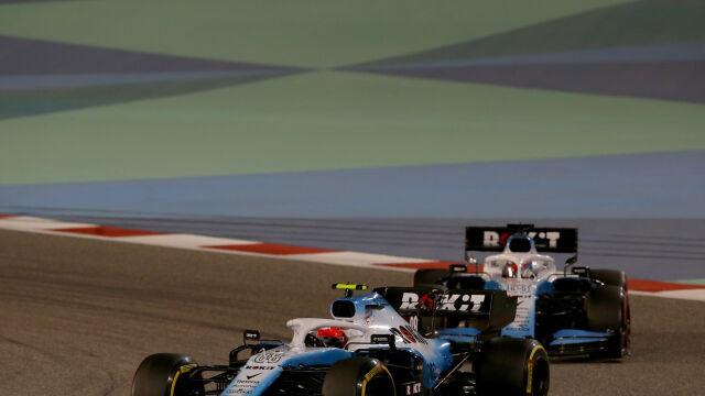 Eksperymenty w Williamsie. Kubica jeździł szybciej z częściami bolidu kolegi