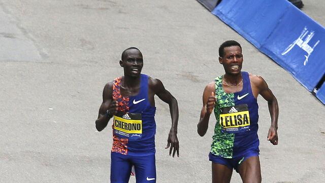 Sprinterska walka po 42 kilometrach. Pasjonujący finisz słynnego maratonu
