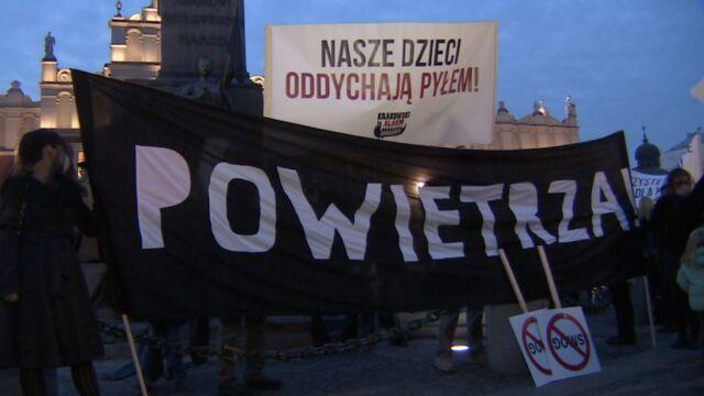 Marsz żałobny w Krakowie. Domagają się czystego powietrza