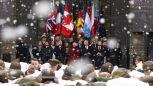 Andrzej Duda na obchodach 75. rocznicy bitwy o Ardeny