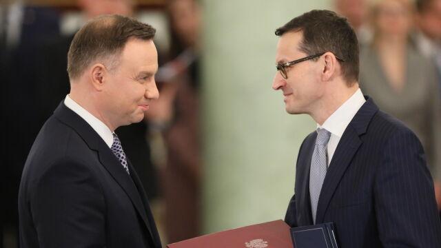 Prezydent powołał Mateusza Morawieckiego na urząd prezesa Rady Ministrów