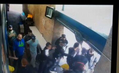 Aresztowanie palestyńskiego nożownika
