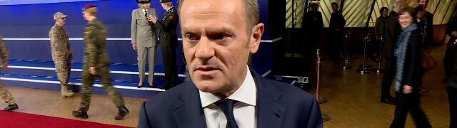 Donald Tusk dla TVN24 BiS: nie będę mówić głosem PiS na temat migracji