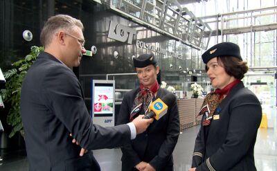 """Stewardessy o locie z Franciszkiem. """"Niezapomniana chwila"""""""