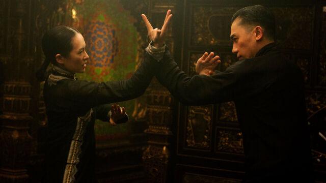 Zhang Ziyi i Tony Leung