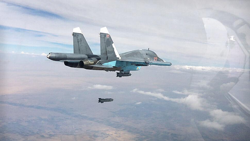 Rosyjski nalot na północy Syrii