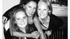 Sabina Baral z córkami