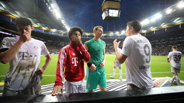 """Niemieckie media po """"katastrofie"""" Bayernu. """"Uratowałoby go tylko pięciu Lewandowskich"""""""