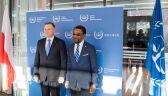 Andrzej Duda spotkał się z Chilem Eboe-Osujim, prezydentem Międzynarodowego Trybunału Karnego w Hadze