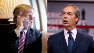 Trump zadzwonił do programu Farage'a.