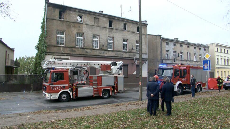 Inowrocław Pożar W Kamienicy Nie żyje Matka I Dzieci