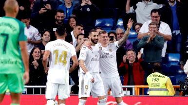 Pięć goli w Madrycie. Real nie traci kontaktu z Barceloną
